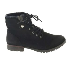 Rock & Candy Closed Toe Tavin Black Ankle Boots